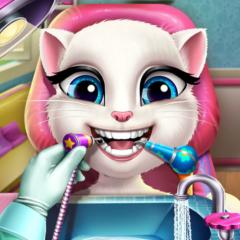 Jogo Angela no Dentista