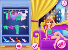 Anna e Elsa na Festa de Pijama - screenshot 1