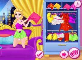 Anna e Elsa na Festa de Pijama - screenshot 3