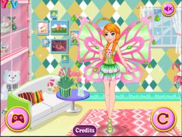 Anna se Veste de Fada Winx - screenshot 3