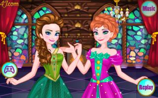 Arrume Anna e a Elsa Para o Baile - screenshot 3