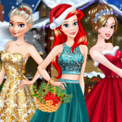 Jogo Arrume as Princesas Para O Natal