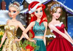 Arrume as Princesas Para O Natal
