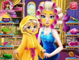 Arrume Rainha Elsa e Sua Bebê - screenshot 1