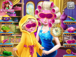 Arrume Rainha Elsa e Sua Bebê - screenshot 2