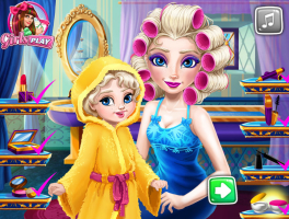 Arrume Rainha Elsa e Sua Bebê - screenshot 3