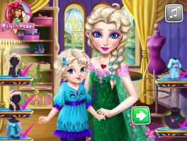 Arrume Rainha Elsa e Sua Bebê - screenshot 4