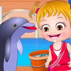 Jogo Baby Hazel Aprende Sobre os Golfinhos