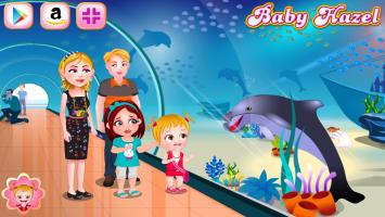 Baby Hazel Aprende Sobre os Golfinhos - screenshot 3