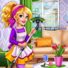 Jogo Barbie Decora a Casa Antiga