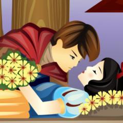 Jogo Beijo da Branca de Neve