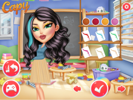 Bonecas Bratz Na Escola - screenshot 3