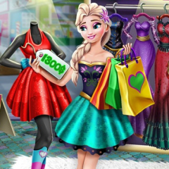 Jogo Comprando Roupa Com Elsa