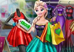 Comprando Roupa Com Elsa