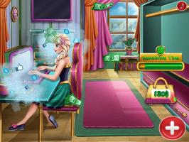 Comprando Roupa Com Elsa - screenshot 1