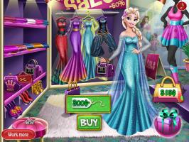 Comprando Roupa Com Elsa - screenshot 3