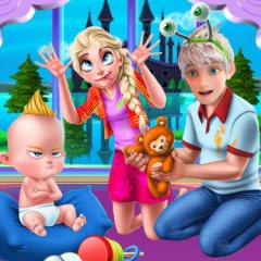 Jogo Decore a Sala de Elsa