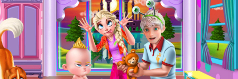 Decore a Sala de Elsa