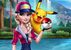 Elsa Joga Pokémon Go
