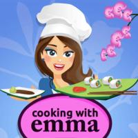 Jogo Emma Cozinha Rolinhos de Sushi