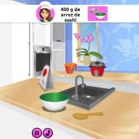 Emma Cozinha Rolinhos de Sushi - screenshot 1
