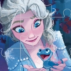 Jogo Frozen Comic Jigsaw