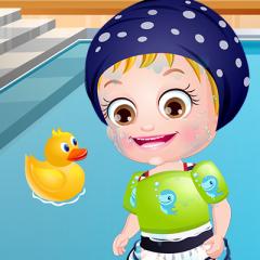 Jogo Hazel Aprende a Nadar