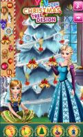 Irmãs de Frozen Decoram Árvore - screenshot 2