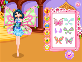 Jasmine se Veste de Fada Winx - screenshot 1