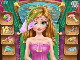 Limpe e Maquie a Anna do Frozen - screenshot 1