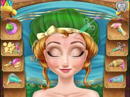 Limpe e Maquie a Anna do Frozen - screenshot 2