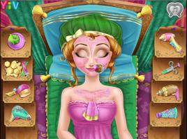 Limpe e Maquie a Anna do Frozen - screenshot 3