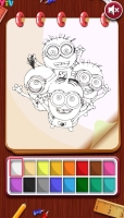 Livro de Colorir Minions 3 - screenshot 1
