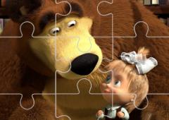 Masha e o Urso Jigsaw