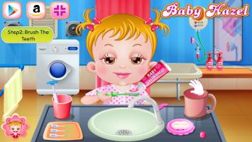 Neném Hazel Escova Seus Dentinhos - screenshot 2