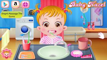 Neném Hazel Escova Seus Dentinhos - screenshot 3