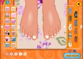 Pedicure de Verão - screenshot 1