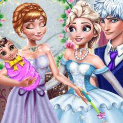 Jogo Princesa Anna: Madrinha Mágica