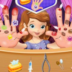 Jogo Princesinha Sofia Machuca as Mãos