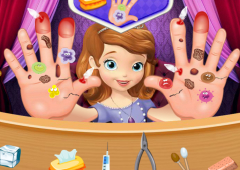 Princesinha Sofia Machuca as Mãos