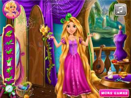 Rapunzel Costura o Vestido da Barbie - screenshot 1