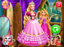 Rapunzel Costura o Vestido da Barbie - screenshot 3