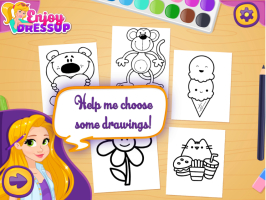 Rapunzel na Escola de Artes - screenshot 1