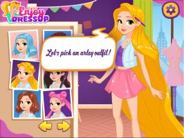 Rapunzel na Escola de Artes - screenshot 3