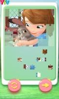 Quebra-Cabeças da Sofia e Animais - screenshot 1
