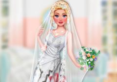 Suje o Vestido de Noiva da Cinderela