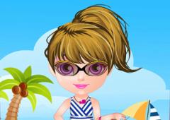 Vista Bebê Halen no Verão