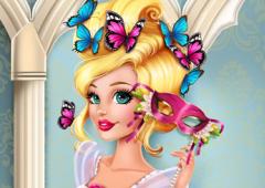 Vista Barbie Para O Carnaval de Veneza