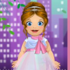 Jogo Vista Bebê Emma de Dama de Honra