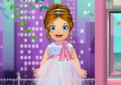 Vista Bebê Emma de Dama de Honra